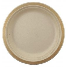 Sugarcane Lunch Plates 180mm Gold P10x10
