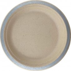 Sugarcane Lunch Plates 180mm Silver P10x10