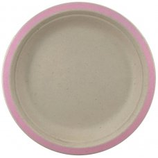 Sugarcane Lunch Plates 180mm Light Pink P10x10