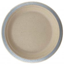 Sugarcane Dinner Plates 230mm Silver P10x10
