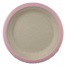Sugarcane Dinner Plates 230mm Light Pink P10x10