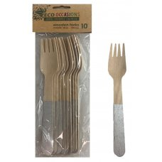 Wooden Forks Silver P10x10