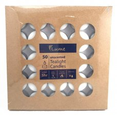 Lume Tealight Candles 5 Hour Box 50 x 10 Ctn 500