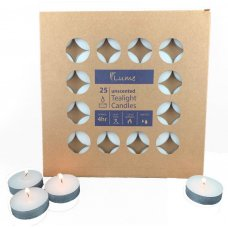 Lume Tealight Candles 4 Hour 10 x Box 25  = Ctn 250