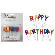Happy Birthday Picks Candles Picks