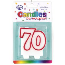 # 70 (Red & White) Candle P1