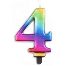 #4 Rainbow Jumbo Candle P1