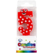 Mini Numeral with Eyes #5 P1