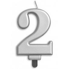 #2 Silver Jumbo Candle P1