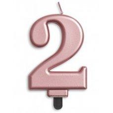 #2 Rose Gold Jumbo Candle P1