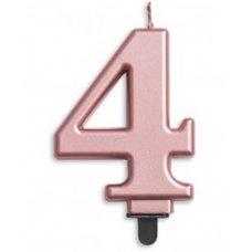 #4 Rose Gold Jumbo Candle P1