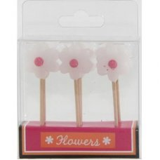 SPECIAL! Flowers White/Pink 80mm Box