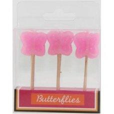 SPECIAL! Butterflies Pink 80mm Box