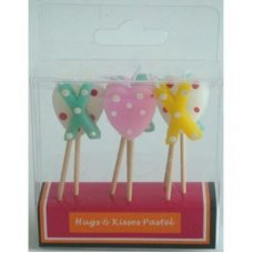 SPECIAL! Hearts and Kisses Pastel 80mm Box