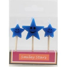 SPECIAL! Smiley Stars Blue 80mm Box