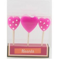 SPECIAL! Hearts Pink Asstd 80mm Box