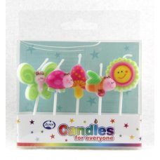 Spring Time Candles PVC 5