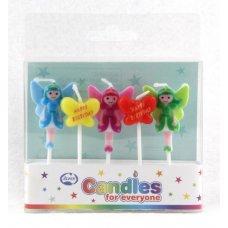 Little Fairies Candles PVC 5