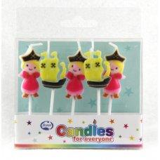 Pirate Princess Candles PVC 5