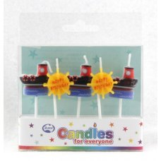 Ships Candles PVC 5