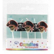 Pirates Candles PVC 5