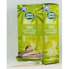 Toothpick Individually Cello Wrapped Bx 1000