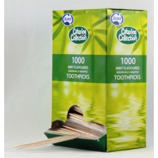 Toothpick Mint Individually Cello Wrapped Box 1000
