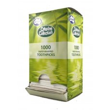 Toothpick Individually White Paper Wrapped Box 1000
