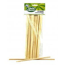 Bamboo Chopsticks 21cm Pack 10