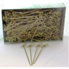 Curly Pick/Skewer 10cm Natural Box 250