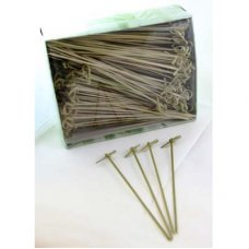 Bamboo Curly Pick Skewer 18cm Natural Pk250