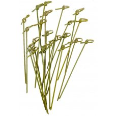 Bamboo Curly Pick Skewer 15cm Natural Pk250