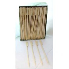Bamboo Paddle Skewer 18cm Natural Pk250