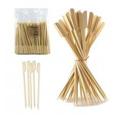 Bamboo Paddle Skewer 24cm Natural Pk250