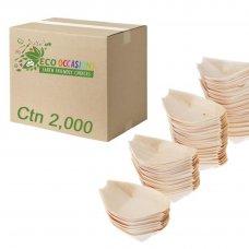 Wooden Boats 250x120mm (40 x Pk50) Ctn2000