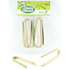 Bamboo Tongs 10cm P8