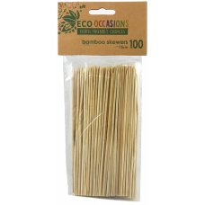 Bamboo Skewer 2.5mm x 15cm Pack 100
