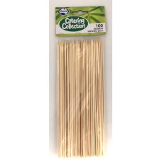 Bamboo Skewer 2.5mm x 20cm Pack 100