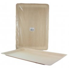 Wooden Plates 40 x 28 x 2cm Pack 25