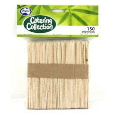 Wooden Coffee Stirs 10mm x 11cm / Pop Sticks P150