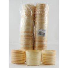 Wooden Cups 6x5.5cm P50
