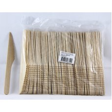Wooden Knives 165mm Pack 100
