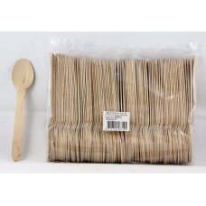 Wooden Spoons 155mm Pack 100