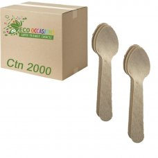 Wooden Tea Spoons 110mm (20 x Pk100) Ctn2000