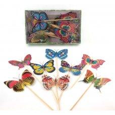 Butterfly Pick 15cm Box 50