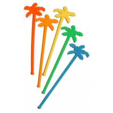 Swizzle Stick Palm Tree Neon Bag 100