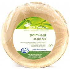 Palm Leaf Round Bowl 5inch P25x4