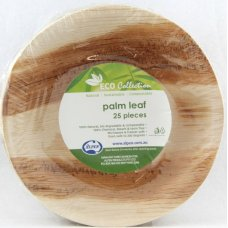 Palm Leaf Round Bowl 6.5inch P25x4