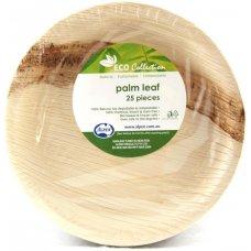 Palm Leaf Round Plate 7inch P25x4