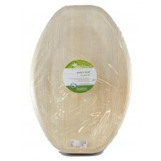 Palm Leaf Medium Platter 14x10inch P10x1